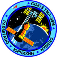 Soyuz TMA-09M Mission Insignia Decal